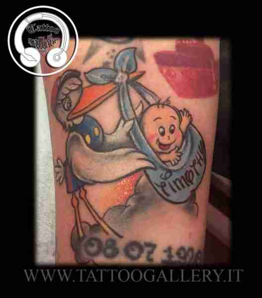 "alt=""tattoo newschool by maury cicogna """