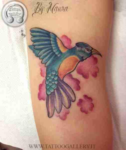 """alt="""" news school tattoo colibrì"""""""