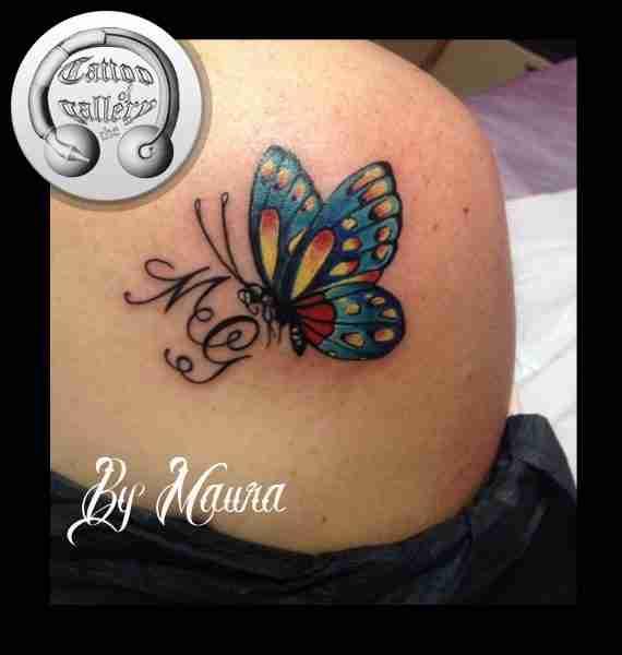 """alt="""" news school tattoo farfalla"""""""