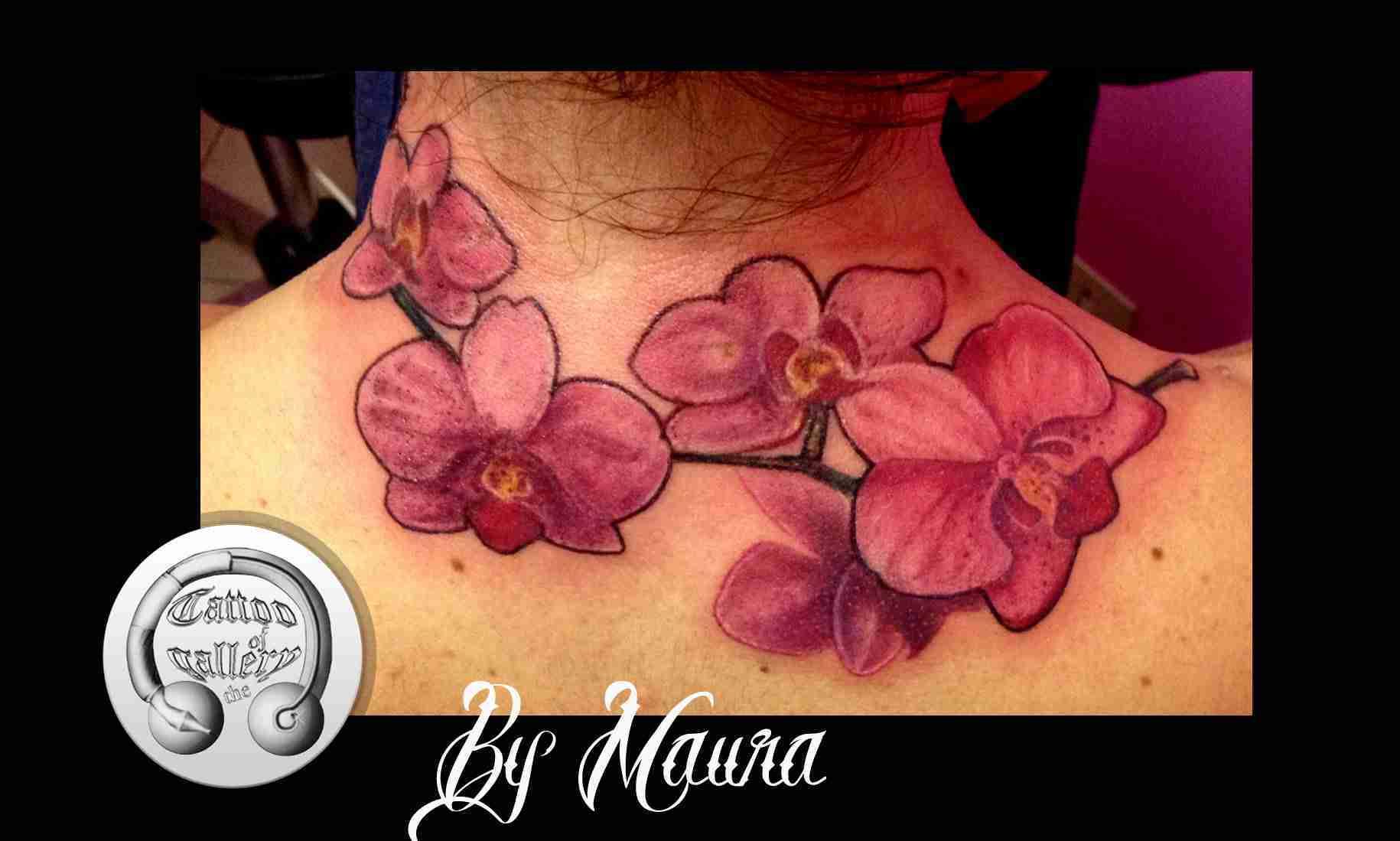 Tattoo orchidee