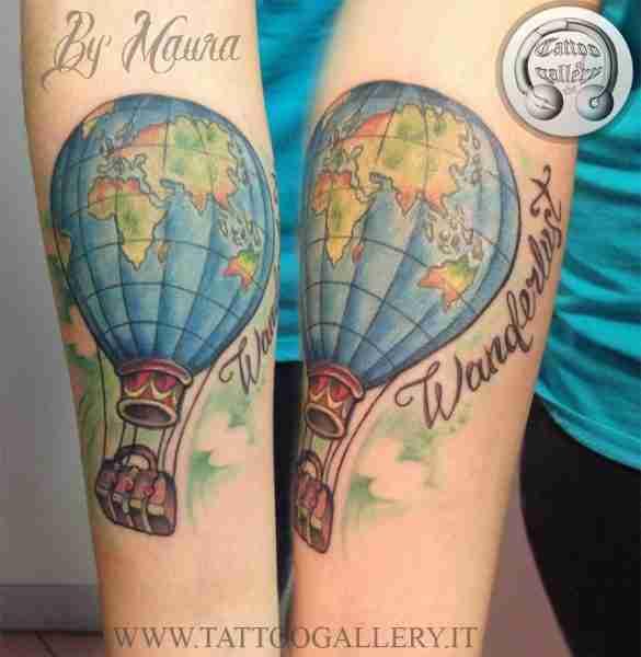 "alt="" news school tattoo balloon"""