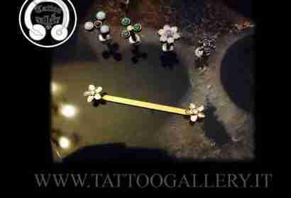 "alt=""piercing sterili, titanio, jewelry anatometal,fiori"""