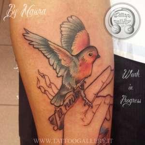 "alt="" news school tattoo bird"""