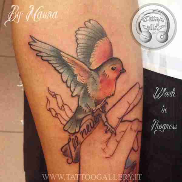 "alt="" news school tattoo bird"""