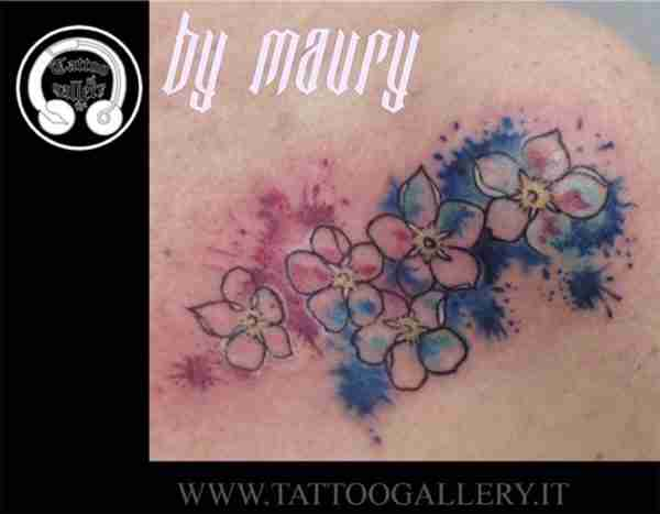 """alt""""=tattoo watercolor by maury"""""""