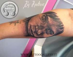 """alt=""""tatuaggi ritrattistici bimbo by andrea"""""""