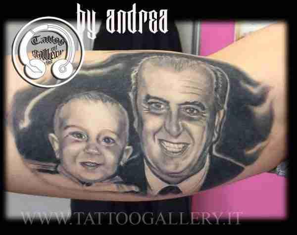 """alt=""""tatuaggi ritratti by Andrea"""""""