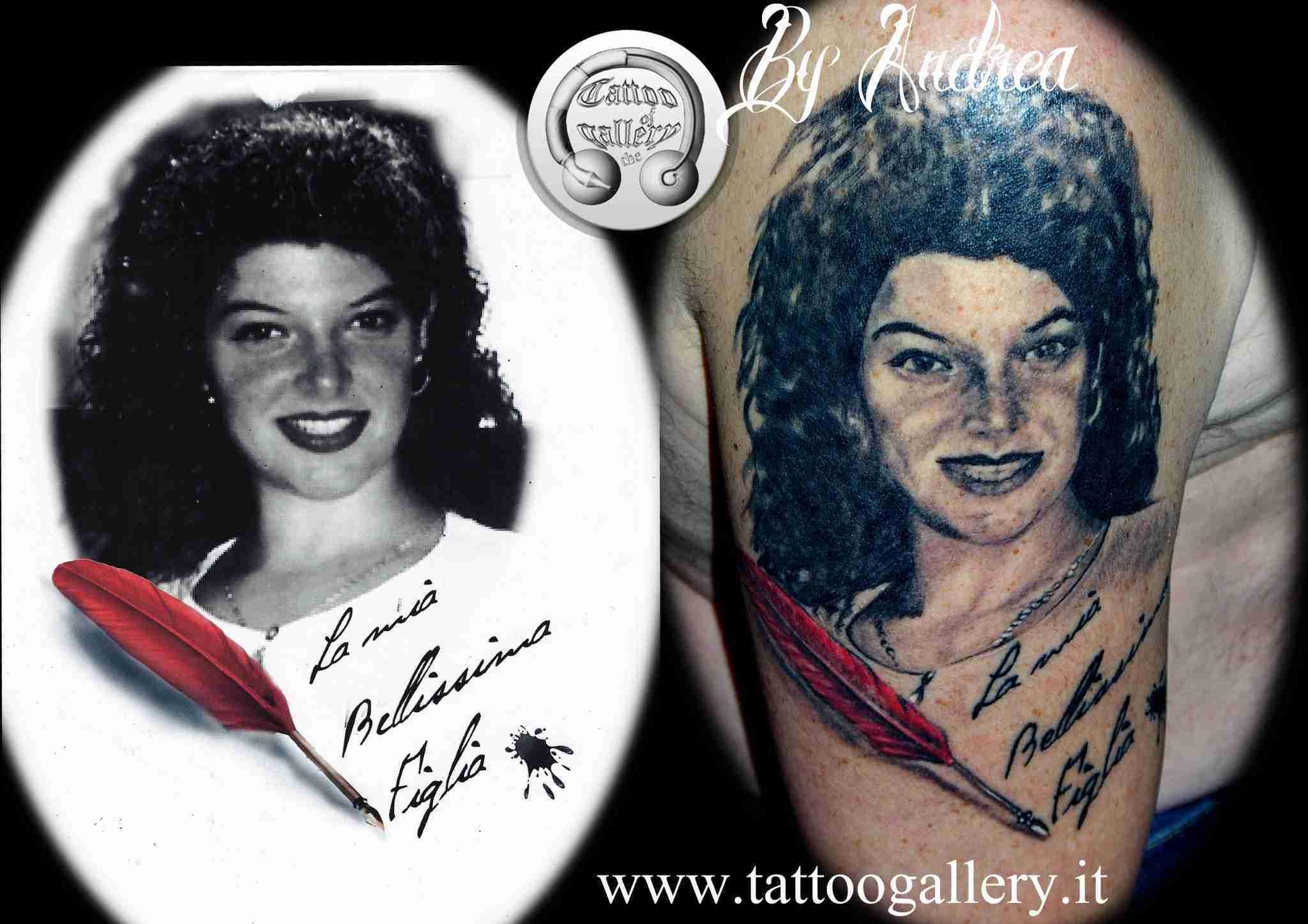 """alt=""""tatuaggi ritrattistici donna by andrea"""""""