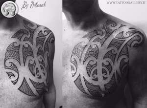 "alt=""tribal tattoo tamoko by deborah"""