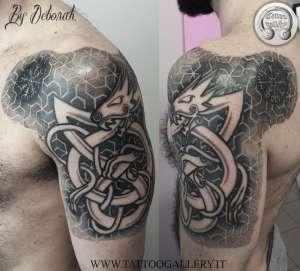 "alt=""tribal norse celtic tattoo viking by deborah"""