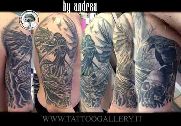 """=""""realistic tattoo ripper by Andrea"""""""