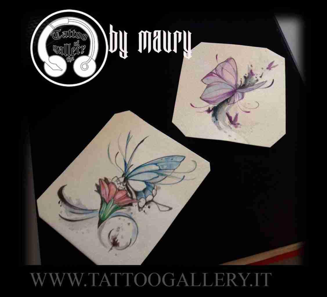 """alt=""""new sketch tattoo farfalle"""""""