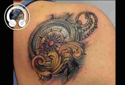 "alt="" tatuaggi newschool compass"""