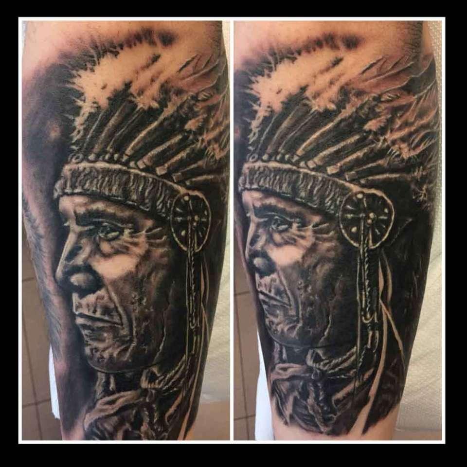 """alt=""""tattoo ritratti indiano"""""""