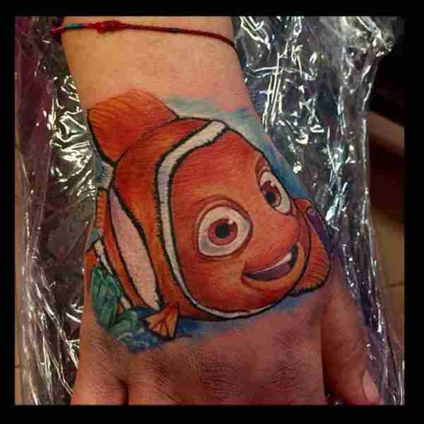"alt=""tatuaggi newschool nemo"""