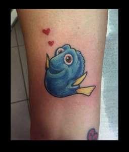 """alt=""""tatuaggi newschool dory"""""""
