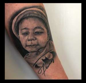 """alt=""""tatuaggi ritratti ritratto di Francy"""""""