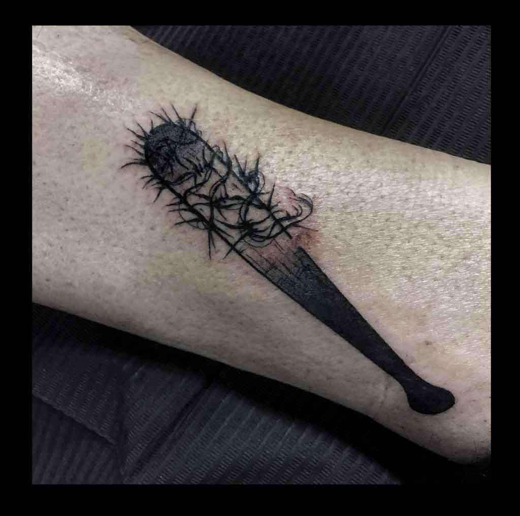 "alt="" tattoo black work lucille"""