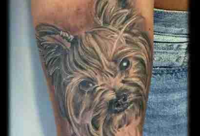 """alt=""""tattoo ritratto barboncino"""""""
