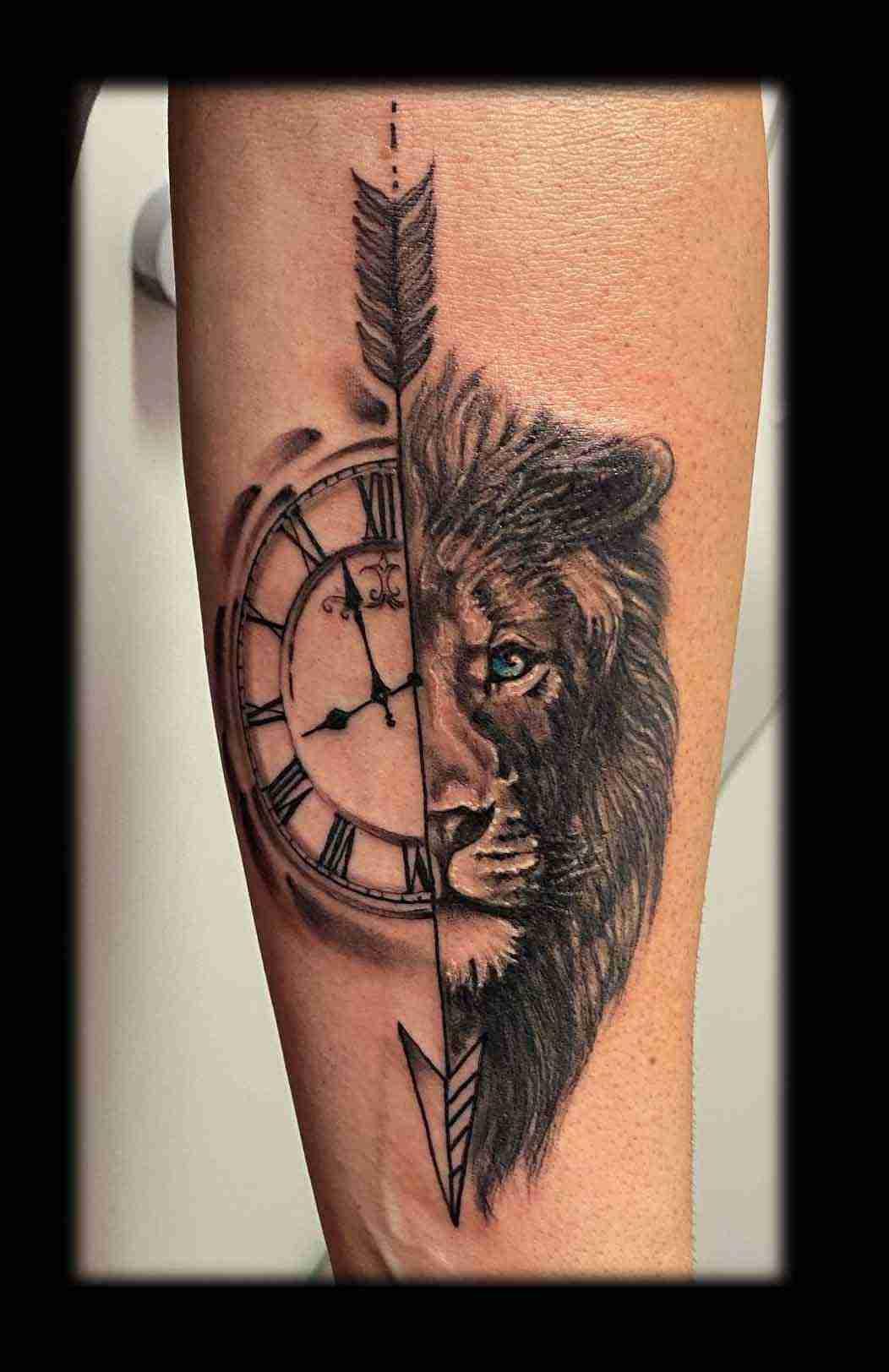 leone freccia