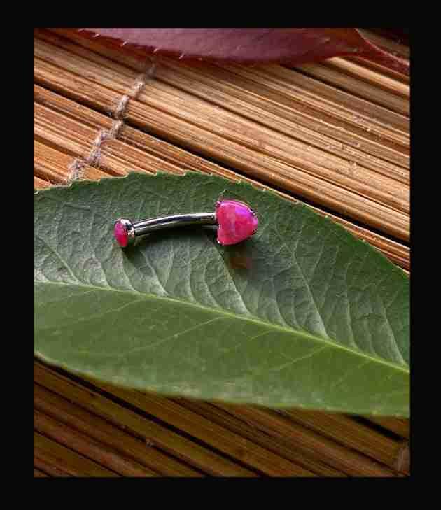 "alt=""micronavel-heart-cut-opale-sintetico-rosa-Anatometal"""